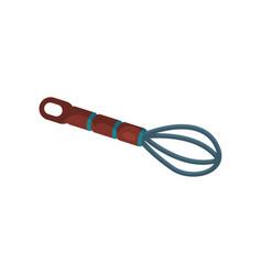 Whisk for whipping kitchen equipment vector