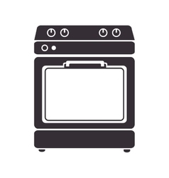 home kitchen stove vector image