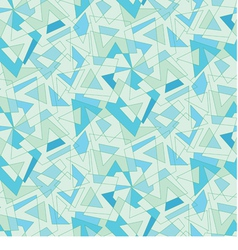 Blue mosaic abstraction seamless background vector