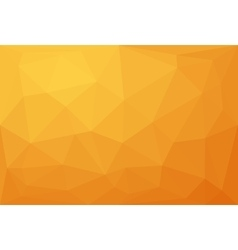 Abstract orange polygonal background vector
