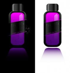 perfume bottle with deodorant vector image
