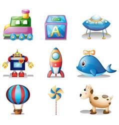 Toys for children vector image