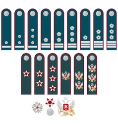Insignia of the federal tax service of russia vector
