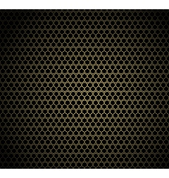 Gold honeycomb background vector