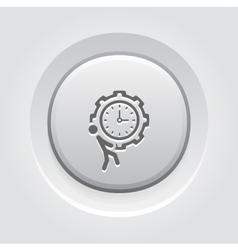 Efficiency management icon vector