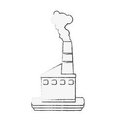 industrial factory symbol vector image