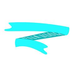 Isolated retro ribbon vector