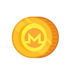Monero sign vector
