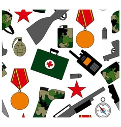 Army ornament vector