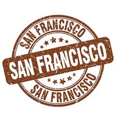 San francisco stamp vector