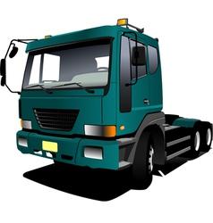 al 0342 truck vector image vector image