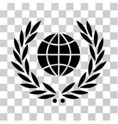 Global emblem icon vector