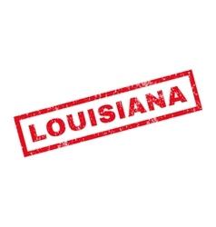 Louisiana rubber stamp vector