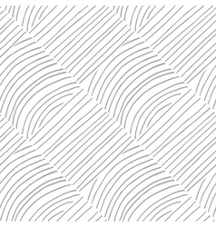 Seamless pattern with hand drawn lines Abstract vector image