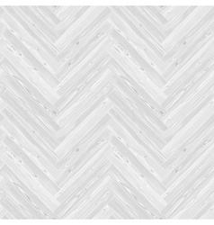 White herringbone parquet floor seamless pattern vector