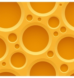 Yellow seamless plastic background with holes vector image