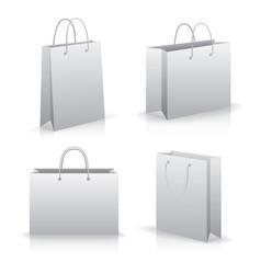 modern flat icons set vector image