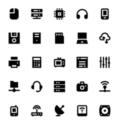 Network technology icon 1 vector