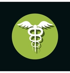 pharmacy symbol isolated icon vector image