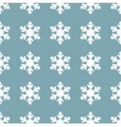 Snowflakes seamless repeatable texture pattern vector