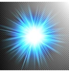 Light effect transparent flare lights eps 10 vector