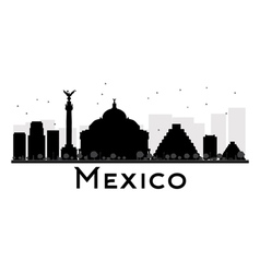 Mexico silhouette vector image