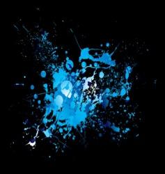 dribble splat vector image