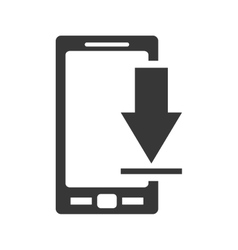 Smartphone gadget technology icon graphic vector