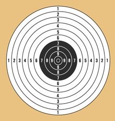 Target white vector
