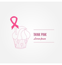 Breast cancer awareness background elements and vector