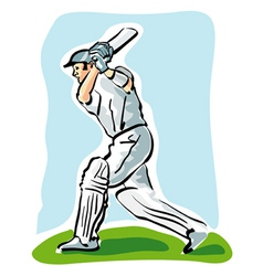 Cricket vector