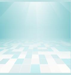 Floor tile background vector