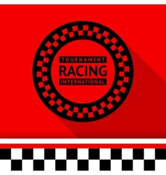 Racing stamp-03 vector
