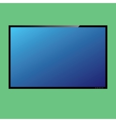 Lcd or led tv screen vector