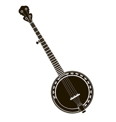 banjo stock vector image