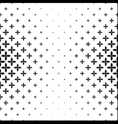 Monochrome geometrical pattern - abstract vector