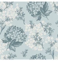 Floral wallaper pattern vector