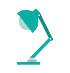 Office lamp isolated icon design vector