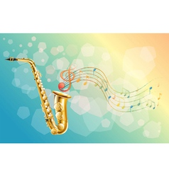 A woodwind instrument vector image