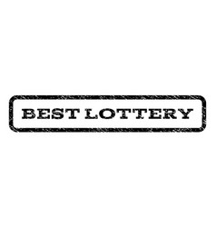 Best lottery watermark stamp vector