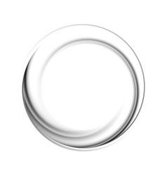 Black circle logo shape vector