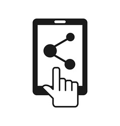 cellphone service vector image