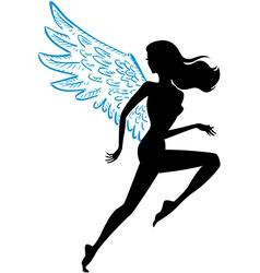 runner dress vector image