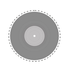 Vinyl record icon image vector