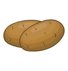 Potatoes icon cartoon style vector image