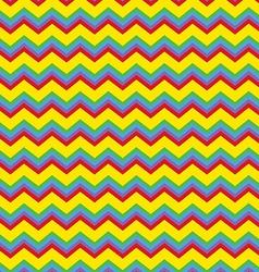 Chevron bright colors vector image vector image