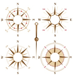 Compass frames vector