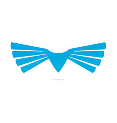 Wings logo image vector