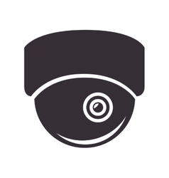Camera security system vector
