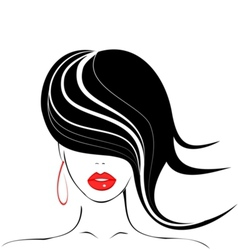 Beauty icon vector